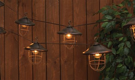 Electric Patio Lights Solar And Electric Patio Lights Groupon Goods