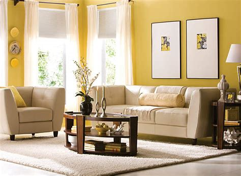 living room mustard walls color story decorating with yellow monochromatic raymour and flanigan furniture design center