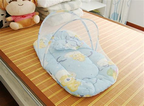 toddler bed pillow top infant cushion mattress pillow bedding crib netting set