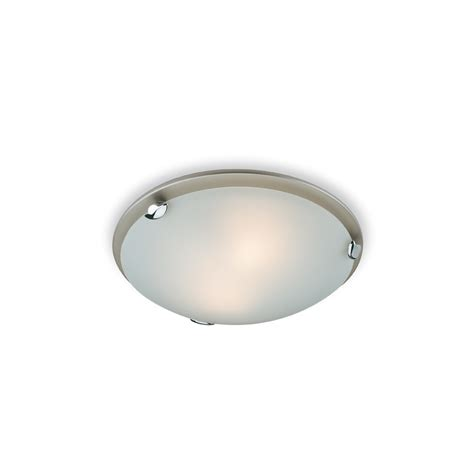 Flush Fitting Ceiling Lights Uk F350ss Chagne Flush Fitting In Satin Steel
