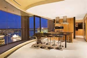 Luxury kitchen area in penthouse sydney