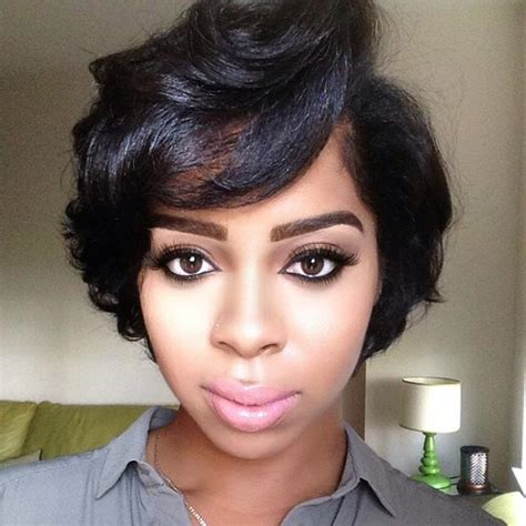 ear length bob african american 50 short hairstyles for black women stayglam