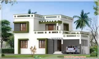 Design House Plan house elevation at 2991 sq ft flat roof house 2 comments