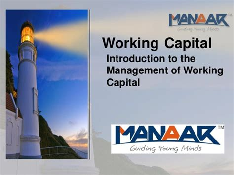 Mba Project On Working Capital Management Pdf by Working Capital Pdf