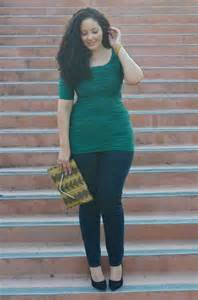 curvy fashion ideas for chubby girls