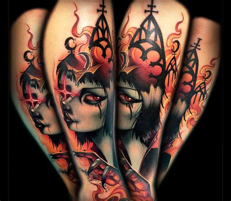 new tattoo pieces by kelly doty