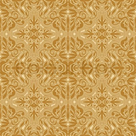 brown royal pattern damask beautiful background with rich antique royal
