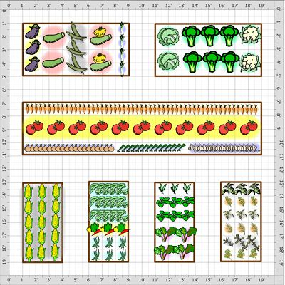Planting Vegetable Garden Layout Vegetable Garden Layouts On Pinterest Garden Layouts Vegetables Garden And Gardening