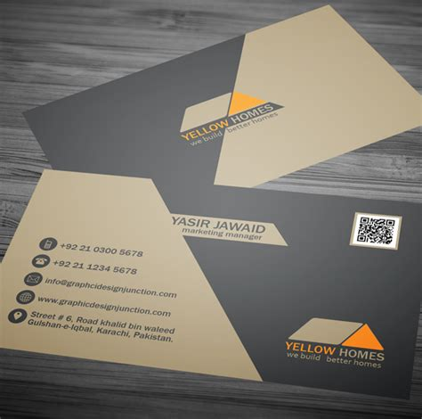 real estate business card template free real estate business card template psd freebies