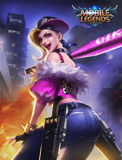 wallpaper mobile legends fanny kagura punk