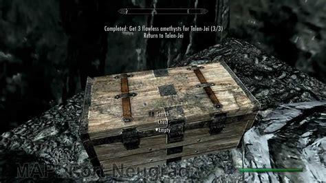 skyrim treasure map 1 10 fort neugrad youtube