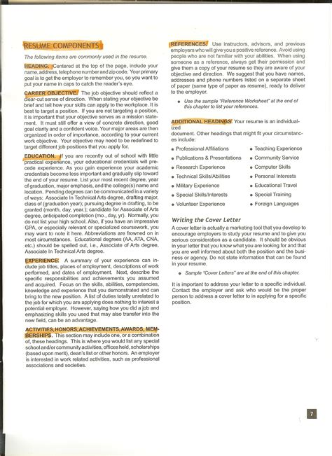 parts of a resume basic parts of the resume best retail parts pro resume exle livecareer 6