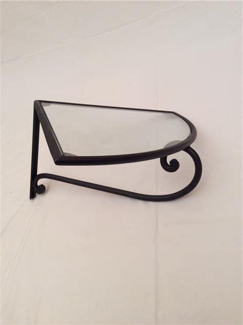 mensole ferro battuto mensola ad angolo in ferro battuto lavorato a mano