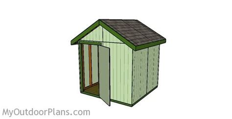 Free Shed Plans 8x8 by 12 Free Shed Plans Free Garden Plans How To Build