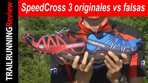 Be Original 3 salomon speedcross 3 originales vs falsas