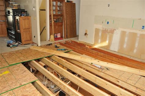 level floor leveling existing floor joists carpet vidalondon