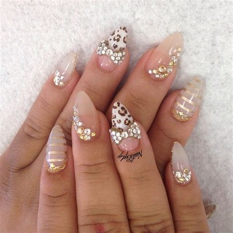 Deco Ongle Pointu by Nail Ongle Pointu Nail Ongles