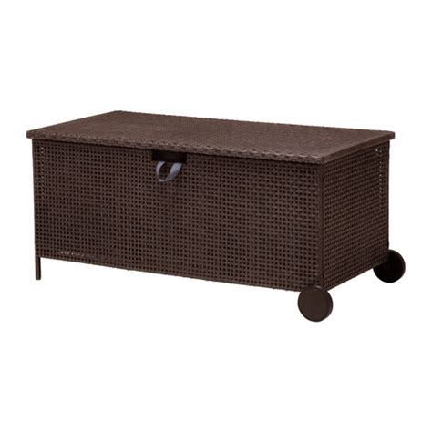 Ikea Bench With Storage | ammer 214 storage bench outdoor ikea