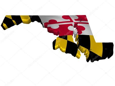 maryland flag map flag and map of maryland stock photo 169 sav up 5245845