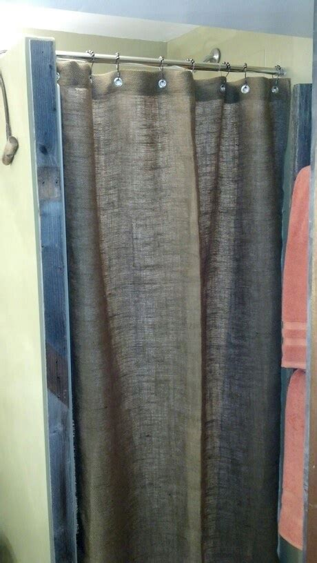 Burlap Shower Curtains Burlap Shower Curtain Home Projects Burlap Shower Curtains Burlap Shower And Burlap