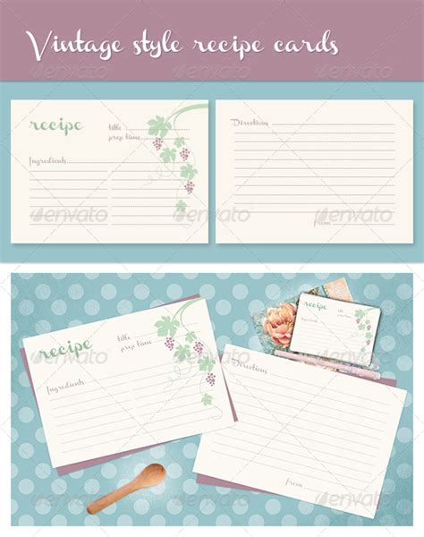 recipe card template indesign indesign templates recipe book 187 fixride