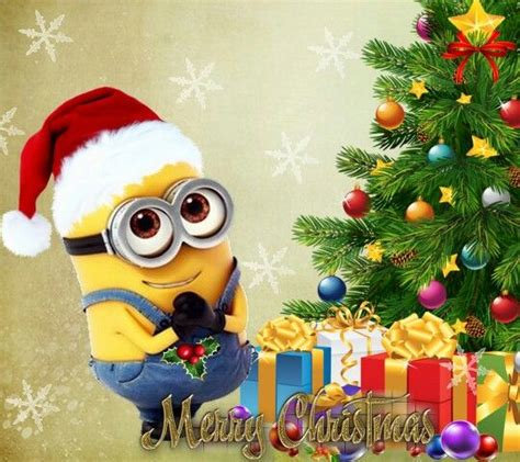 imagenes de feliz navidad de minions merry christmas all about the minions pinterest