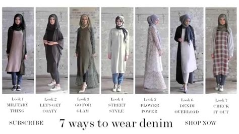 7 Ways To Fashionably Fit In With The 70s Revival by Modest Fashion Style Guide 7 Ways To Wear Denim