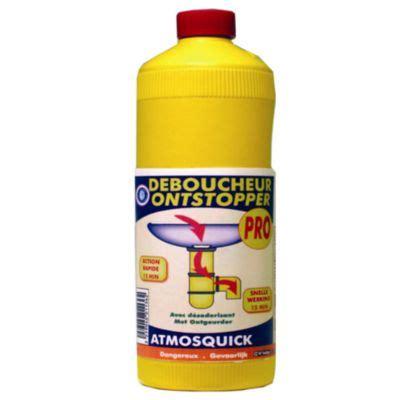 Debouche Evier Puissant by D 233 Boucheur Canalisation Atmosquick 1 L Castorama