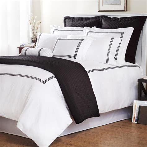 measurements of a queen size comforter black stripe barrato stitch full queen size 3 piece duvet