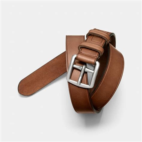 coach belt coach bleecker story patch belt in brown for fawn lyst