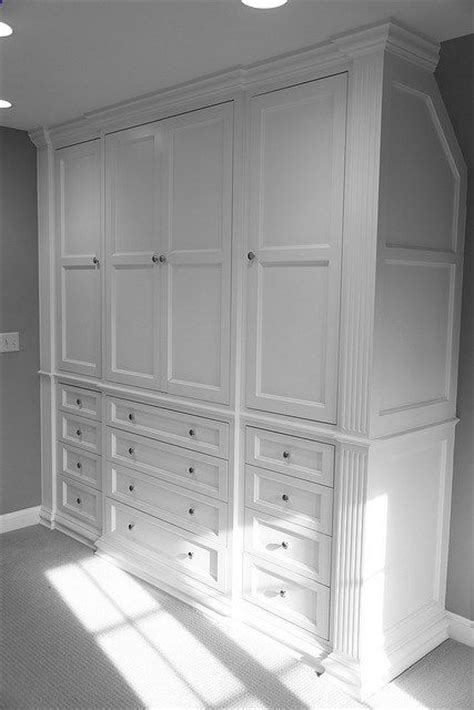 built in closet drawers built in closet w drawers make a house a home