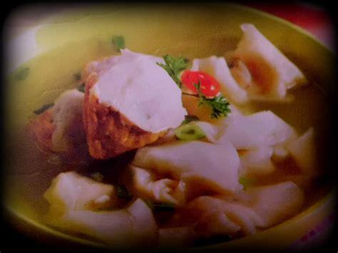 resep tahu goreng kuah pangsit resep masakan indonesia