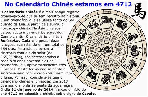 O Calendario Chines Hist 243 Rias Do Medeiros Calend 225 Chin 234 S Mais Um Ano Do