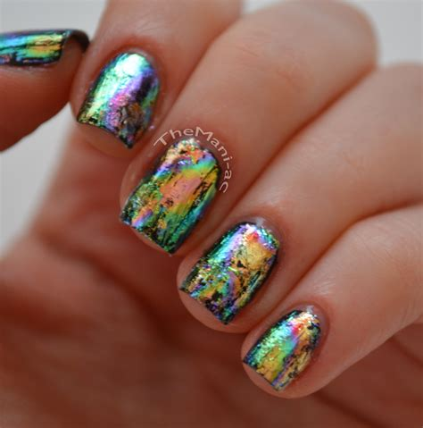 Foil Nail by Notd Rainbow Swirl Nail Foil The Ac