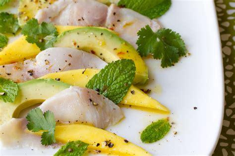 recipe fried calamari salad villeroy boch blog ceviche carpaccio with spicy citrus vinaigrette villeroy