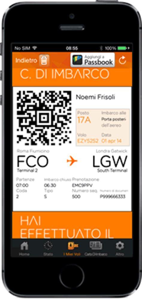 carta d imbarco mobile carte di imbarco mobile easyjet