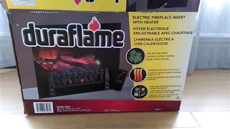 duraflame electric fireplace insert 2017 review