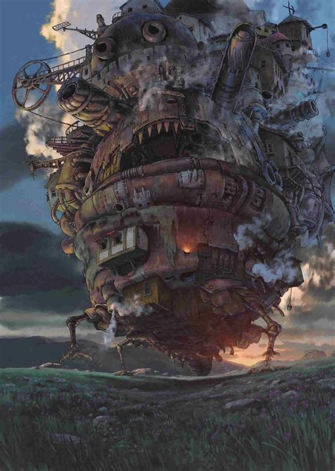 the of howl s moving castle howls moving castle mobile phone wallpaper pack