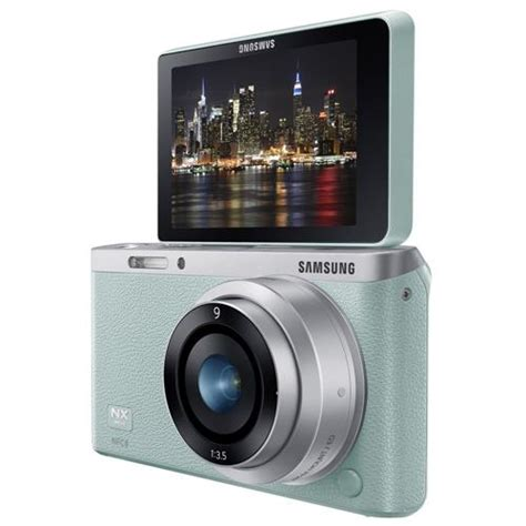 smart nx mini c 226 mera samsung smart nx mini 9mm verde 21mp lcd m 243 vel