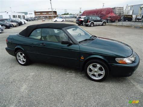 saab convertible green scarabe green metallic 1999 saab 9 3 se convertible