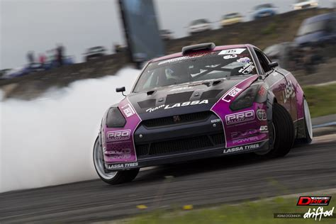 nissan drift snapshot team lassa r35 gtr drift car drifted com