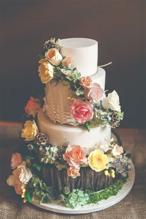 best 25 forest wedding cakes ideas on outdoor wedding cakes tree cakes and nature