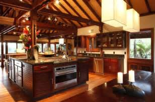 Tropical Kitchen Design remain cool with tropical style kitchen design home design