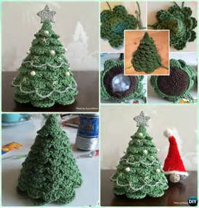 Decorate Your Desk For Christmas Crochet Christmas Tree Free Patterns For Holiday Decoration