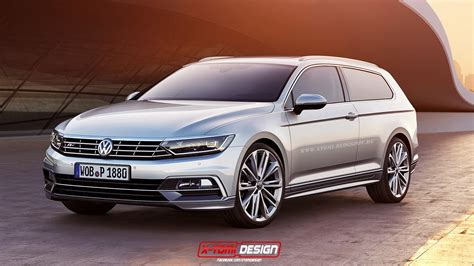 volkswagen passat coupe 2015 volkswagen passat coupe and shooting brake rendered