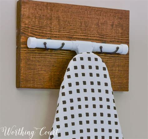17 best ideas about ironing board hanger on
