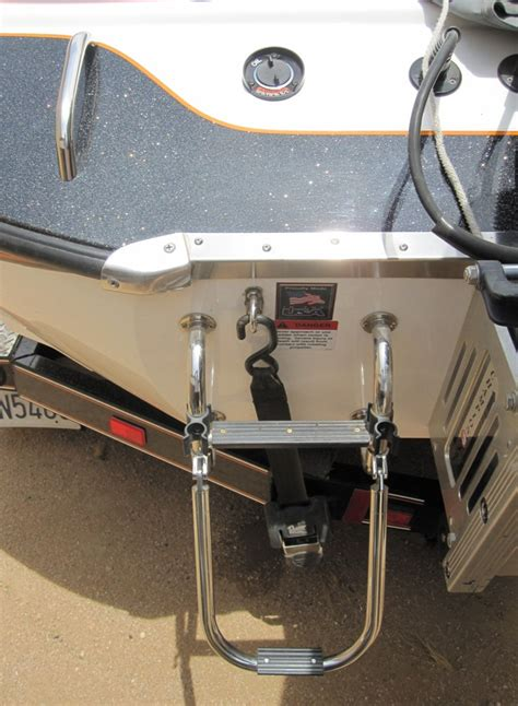 boat ladders for bass boats bass boat ladder azbz forums