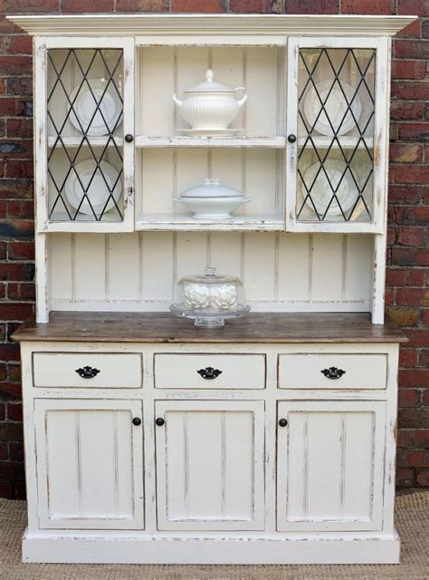 white dining room hutch country farmhouse french provincial buffet and hutch