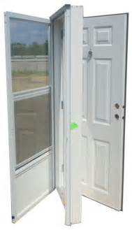 32x72 steel solid door with peephole rh for mobile home