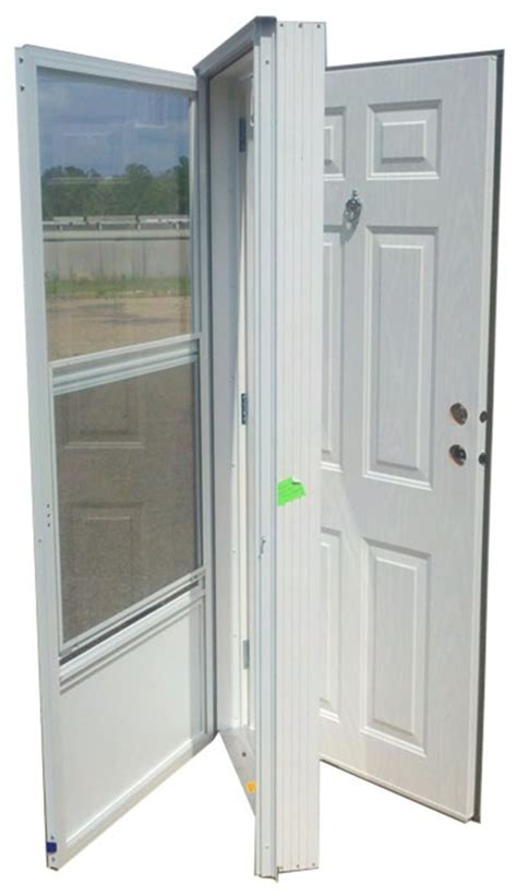 32x74 Exterior Door 32x74 Steel Solid Door With Peephole Rh For Mobile Home Manufactured Housing